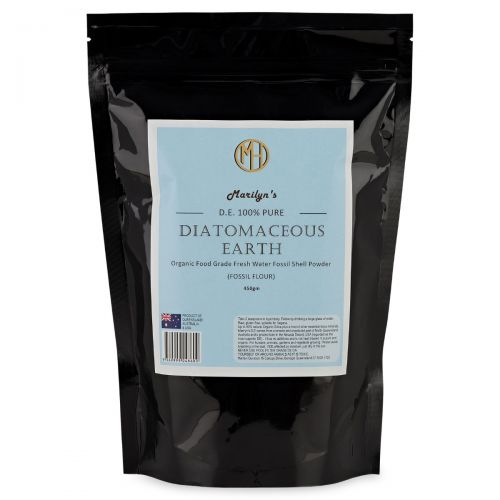 Diatomaceous Earth Fine Milled 100% Pure -450g