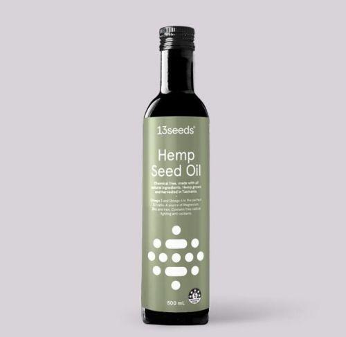 Pure Cold Pressed Hemp Seed Oil -500ml