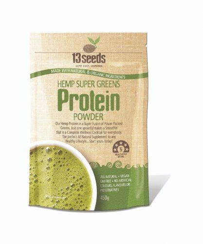 Hemp Super Greens Protein Powder 450g