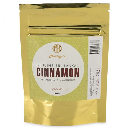 Sri Lankan Cinnamon (Zeylanicum Cinnamon) -50g