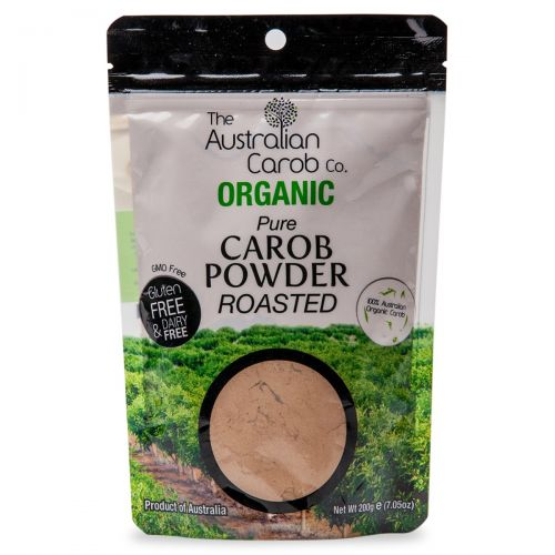 Organic Carob Powder Roasted 200g