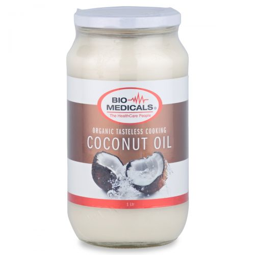 Tasteless Coconut Cooking Oil-1L Glass