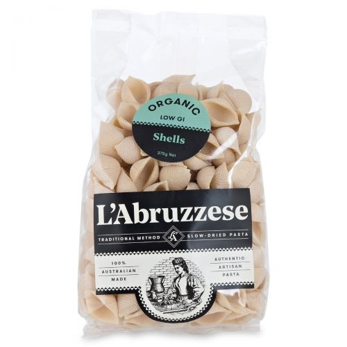 Organic Plain Durum Wheat Pasta-Shells 375g