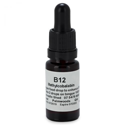 B12 (Methlycobalabin) 10ml Vegan Drops