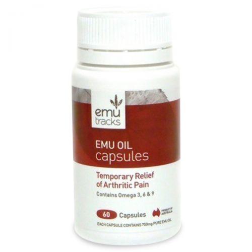 Emu Oil Capsules - 50 Caps