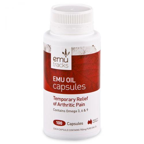 Emu Oil Capsules-100 Caps