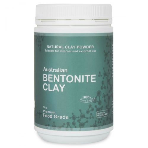 Bentonite Clay (Food Grade) 1kg