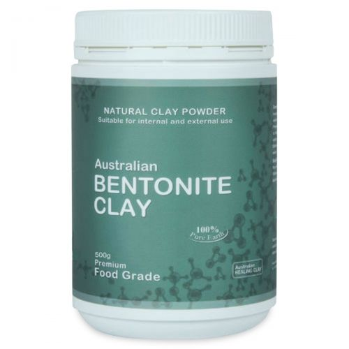 Bentonite Clay (Food Grade) 500g