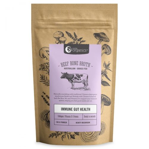 Beef Bone Broth Powder - Mushroom 100g