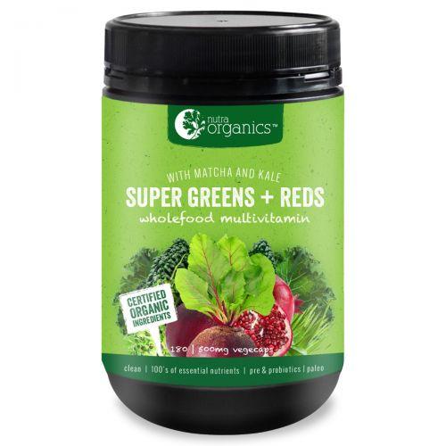 Super Greens & Reds 180 Caps