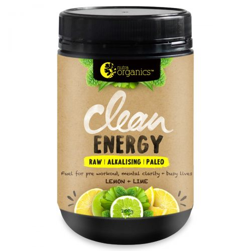Clean Energy Lemon & Lime 150g