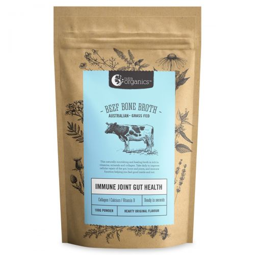 Beef Bone Broth Powder - Hearty Original -100g