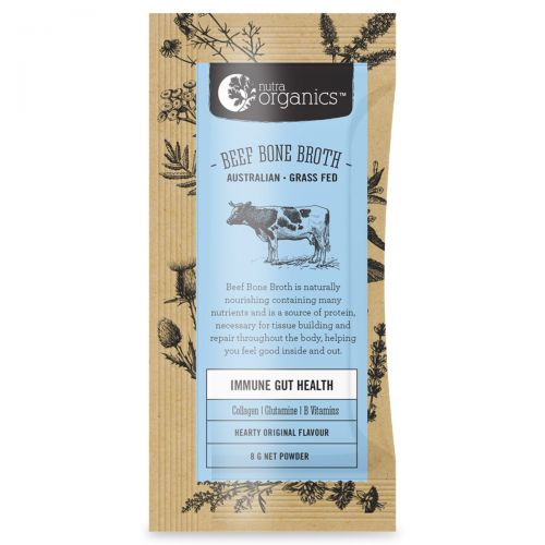 Beef Bone Broth Powder Original Sachets 20 x 8g
