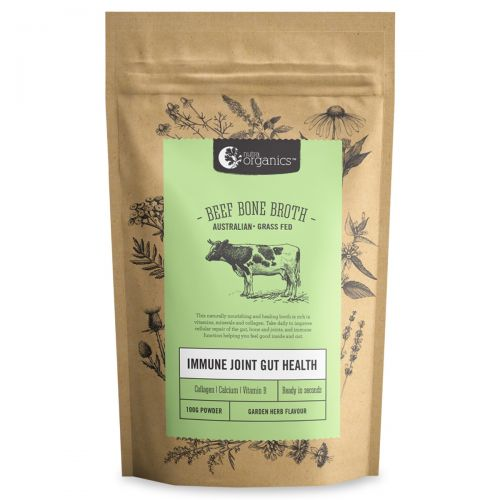 Beef Bone Broth Powder Garden Herb 100g
