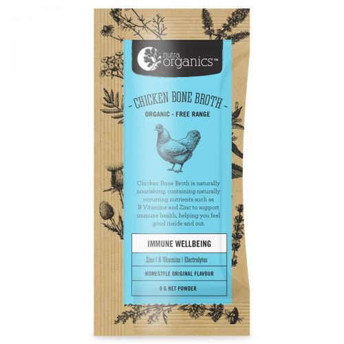 Chicken Bone Broth Powder Original Sachets 20 x 8g
