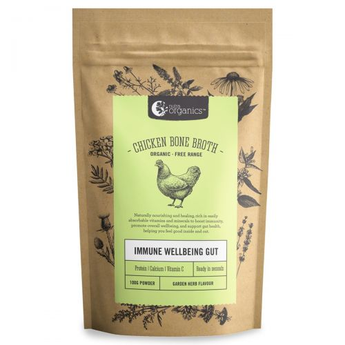 Chicken Bone Broth Powder Garden Herb 100g