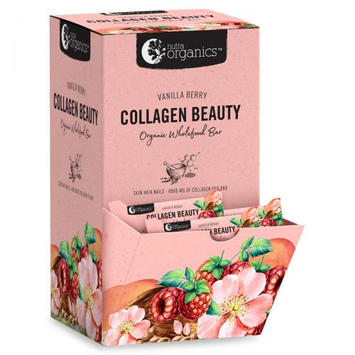 Collagen Beauty Vanilla Berry Bars 30 x 30g