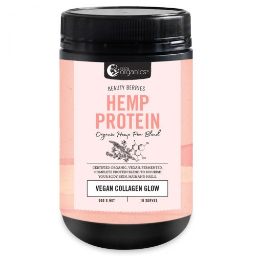 Hemp Protein Beauty Berries -500g