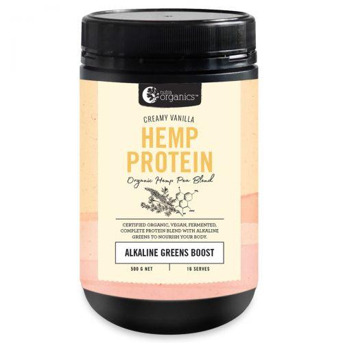 Hemp Protein Creamy Vanilla -500g