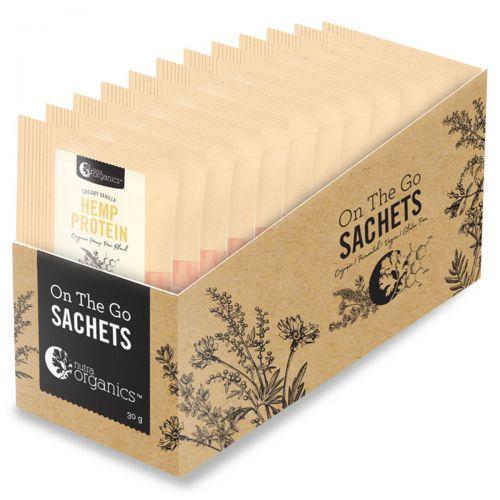 Hemp Protein Creamy Vanilla Sachets 12 x 30g