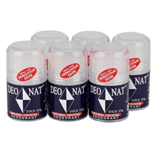 Crystal Deodorant Pop-Up 6 x 100g