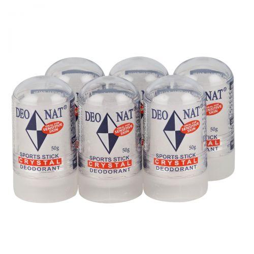 Crystal Deodorant 'Sport Stick' 6 x 50g
