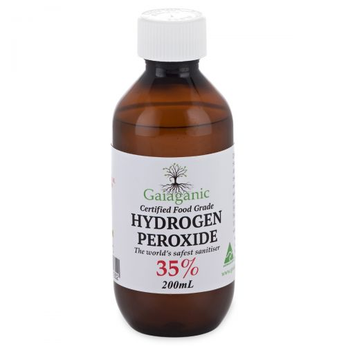 Hydrogen Peroxide Food Grade 35% 200ml