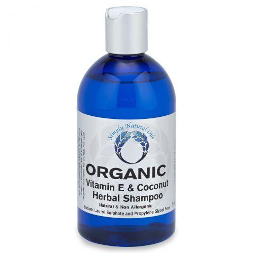 Organic Vitamin E & Coconut Herbal Shampoo 500ml