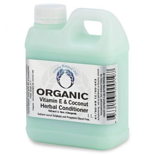Organic Vitamin E & Coconut Herbal Conditioner 1 Litre