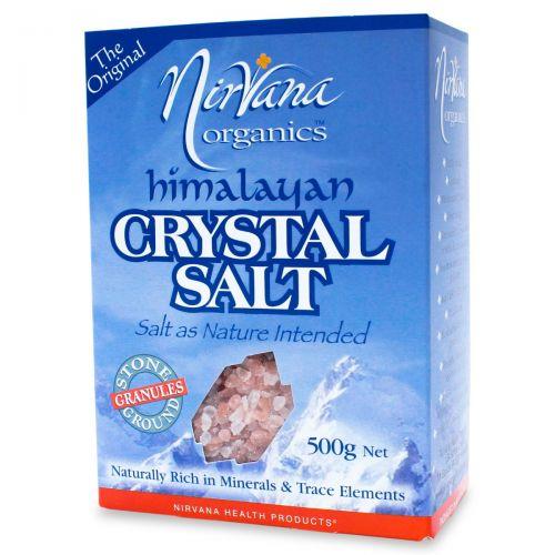Himalayan Crystal Salt Granules-500g