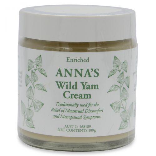 """Annas Wild Yam Cream """"Hers"""" 100g"""
