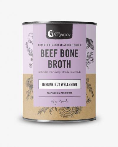 Beef Bone Broth Powder Adaptogenic Mushrooms 125g Cannister