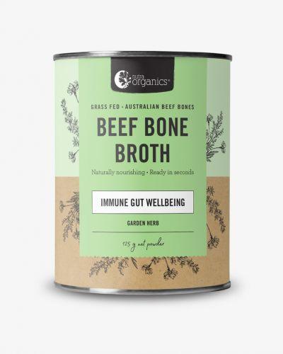 Beef Bone Broth Powder Garden Herb 125g Cannister