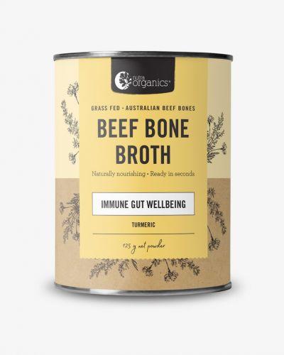 Beef Bone Broth Powder Turmeric 125g Cannister