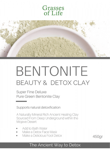 Green Calcium Bentonite Clay 450g