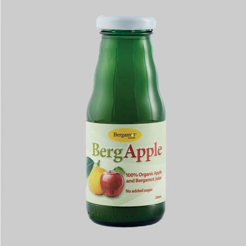 Organic BergApple Juice 200ml x 24