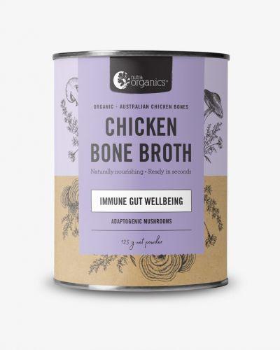 Chicken Bone Broth Powder Adaptogenic Mushroom 125g Cannister