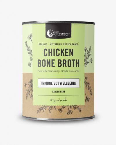 Chicken Bone Broth Powder Garden Herb 125g Cannister