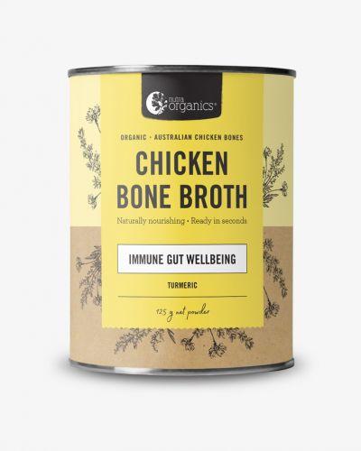 Chicken Bone Broth Powder Turmeric 125g Cannister