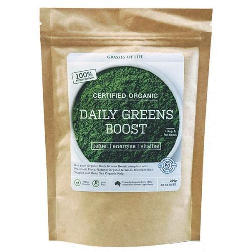 Organic Daily Greens Boost 200g