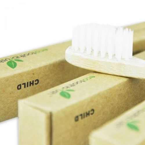 EcoToothbrush Charcoal Bristle -Child