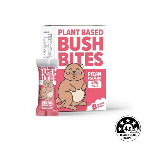 Bush Bites Pecan Pistachio Nut Bars (8 x 30g)