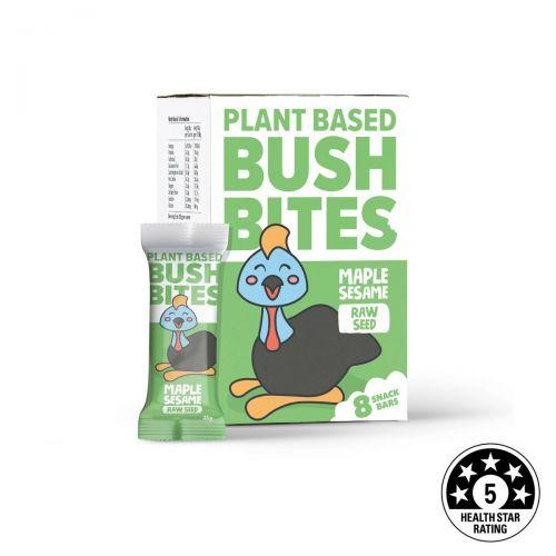 Bush Bites Maple Sesame Seed Bars (8 x 25g)
