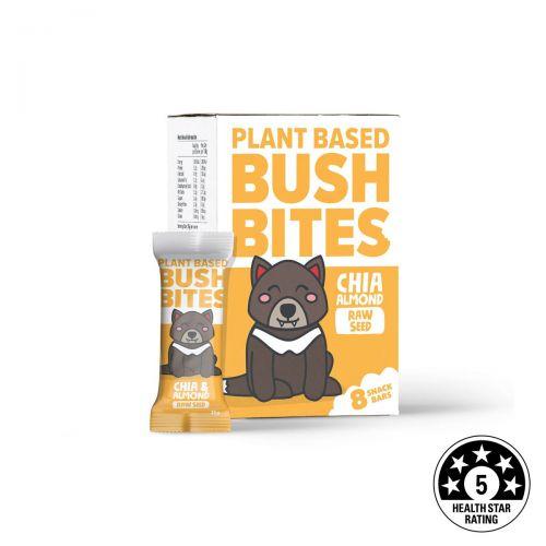 Bush Bites Chia & Almond Seed Bars (8 x 25g)