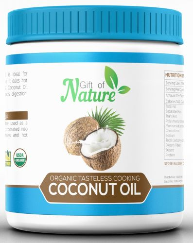 Organic Tasteless Cooking Coconut Oil 1 Litre