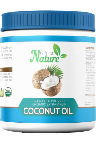 Organic Extra Virgin Coconut Oil 1 Litre