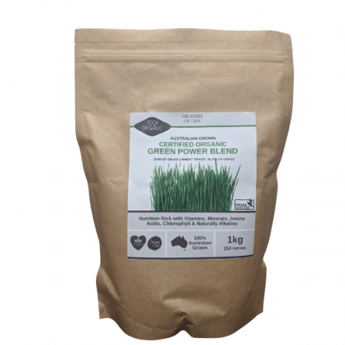 Organic Green Power Blend 1kg