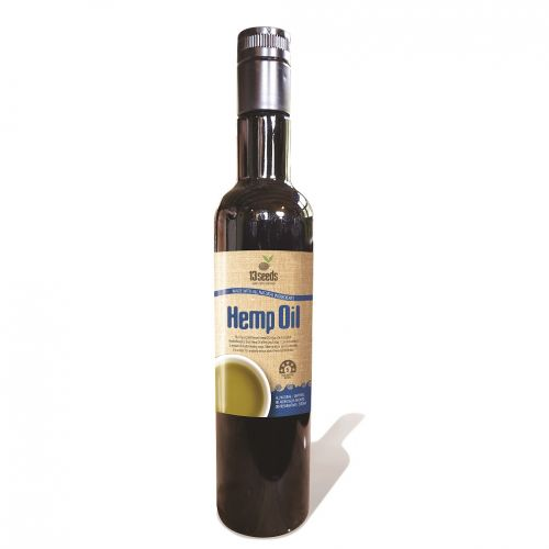 Pure Cold Pressed Hemp Seed Oil -250ml