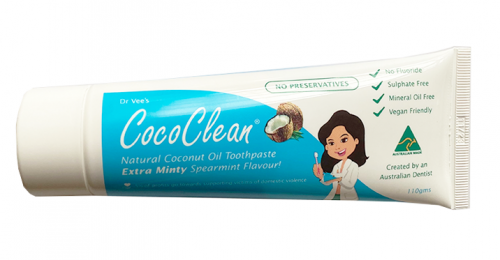 Preservative Free Coconut Oil Toothpaste 110g