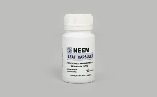 Neem Leaf Capsules 60 caps